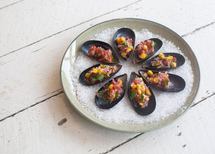 Chalaca Mussels